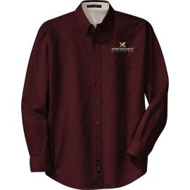 20-S608, Small, Burgundy, Xperience Fitness (full Color).