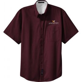 20-S508, Small, Burgundy, Xperience Fitness (full Color).