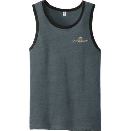 20-AA6043, Small, Charcoal/Black, Xperience Fitness (full Color).