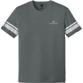 20-DT376, X-Small, Heathered Charcoal/White, Xperience Fitness (full Color).