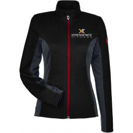 20-187335, X-Small, Black/Polar/Red, Xperience Fitness (full Color).