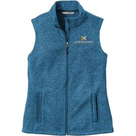 20-L236, X-Small, Medium Blue Heather, Xperience Fitness (full Color).